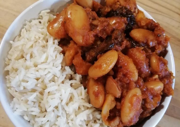 Spicy Butterbean and Sweet Potato Stew