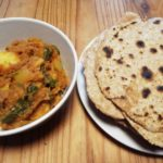 Roast Lamb and Spinach Curry