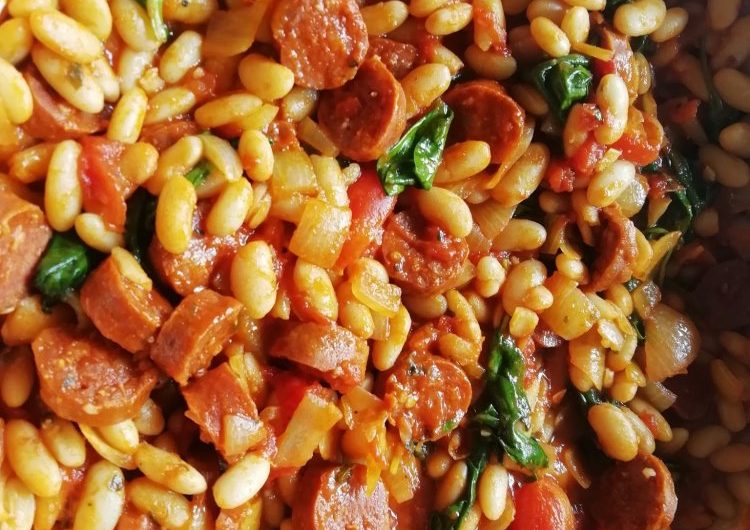Cannellini Bean and Chorizo Stew